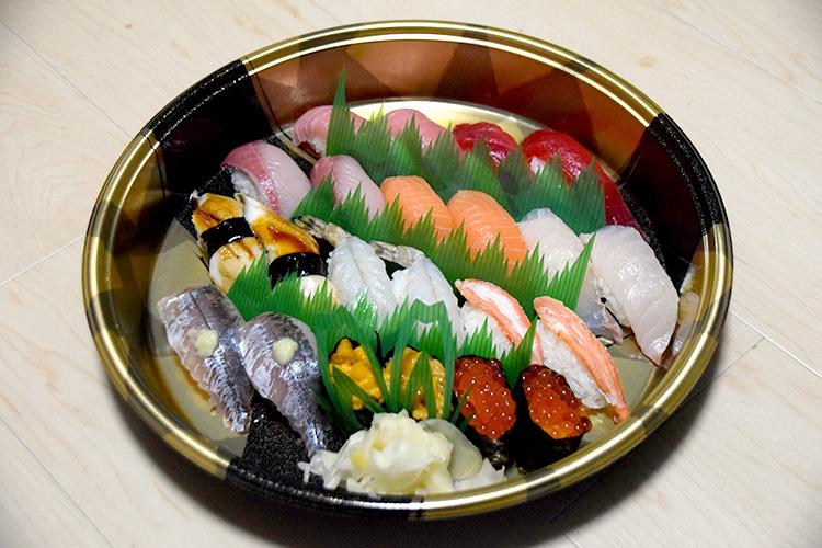 お高めなお寿司
