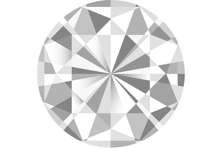 ダイヤモンド 薄め